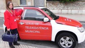 La unitat mòbil del servei de teleassistència també funciona 365 dies a l'any i 24 hores al dia.