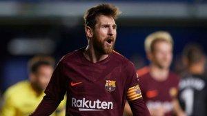 Leo Messi, celebrant un gol