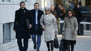 L'exmajor dels Mosdod, Josep Lluís Trapero, arribant a l'Audiència Nacional