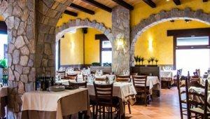 L'interior d'un dels restaurants cerdanyolencs