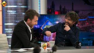 Pablo Motos i Jordi Évole durant l'entrevista a 'El Hormiguero'