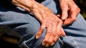 Paciente con esclerosis lateral amiotrófica (ELA).