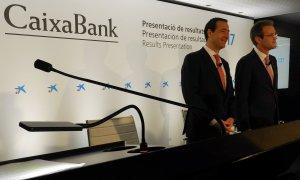 Presentació de resultats anuals de CaixaBank, a València