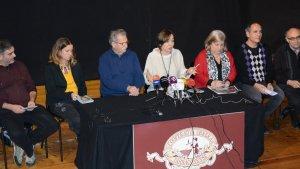Presentació dels actes musicals de la Temporada de Teatres de Primavera