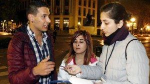Tres voluntaris del recompte de sensesostres a Tarragona