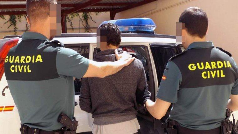Imagen de archivo de una detención.