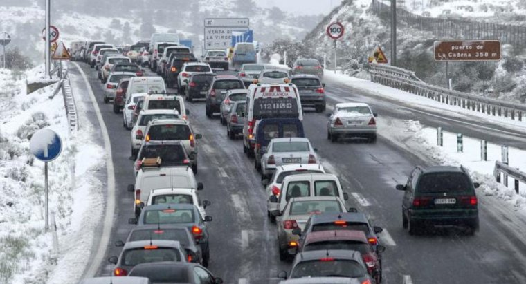 Cues quilomètriques a les carreteres catalanes
