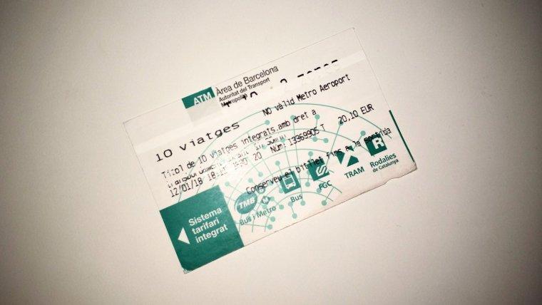 El bitllets interurbans S1, S2 i S3 ja no es vendran als autobusos
