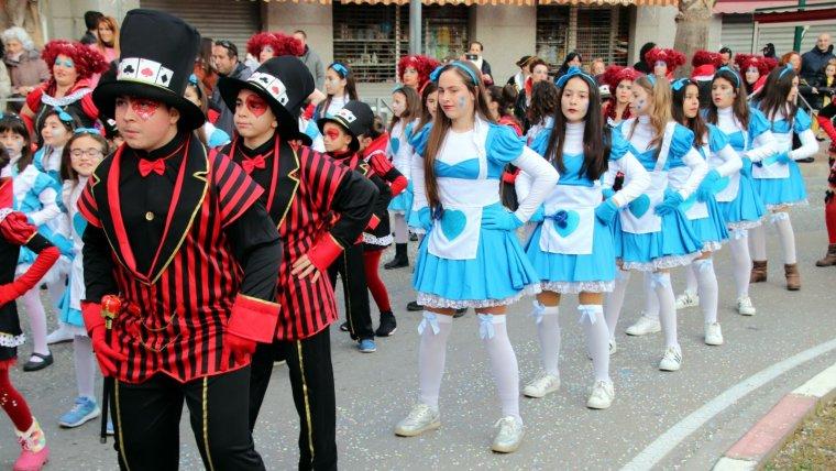 El carnaval de Roda de Berà ha deixat imatges com aquesta al llarg del cap de setmana