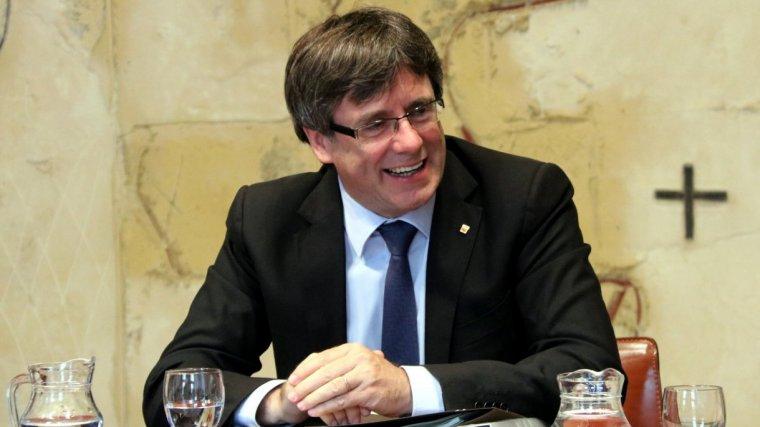 El president de la Generalitat, Carles Puigdemont, el 12 de setembre de 2017.