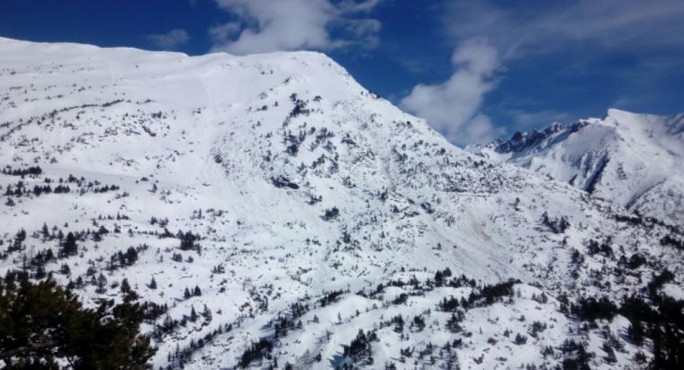 Imatge de la neu al Pirineu lleidatà