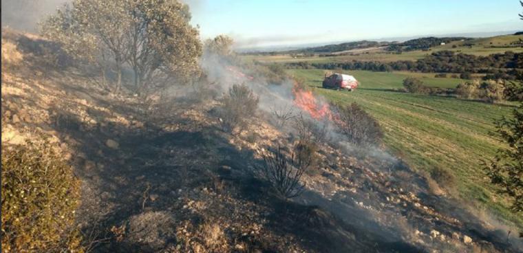 Imatge de l'incendi