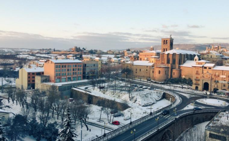 Imatge de Solsona nevada