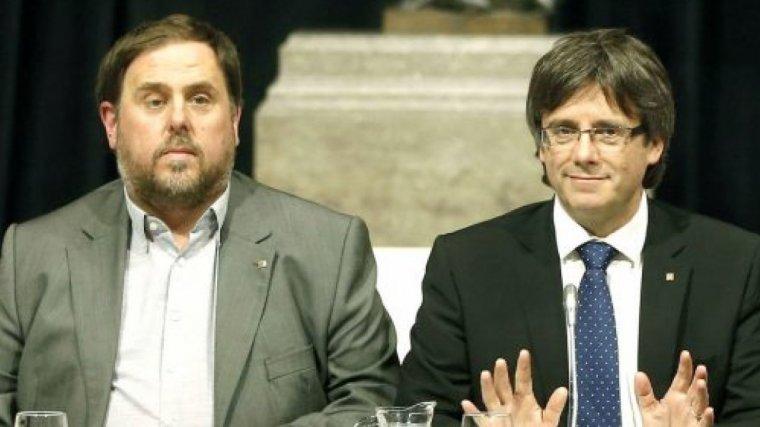 Junqueras i Puigdemont, a l'ull de l'huracà de la justícia espanyola