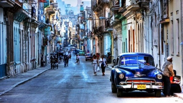 La Habana Vieja, llena de negocios clandestinos.