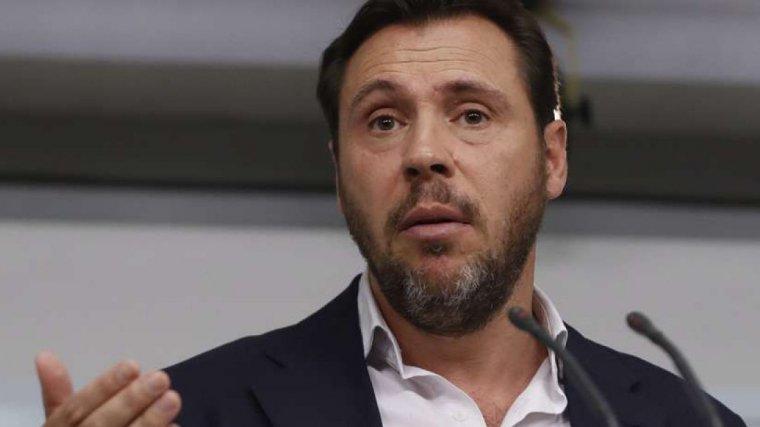 Óscar Puente, portaveu del PSOE, en una imatge d'arxiu
