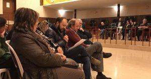 A la sala recreativa es va donar veu als testimonis de l'1 d'octubre