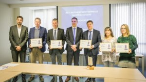 Activa Mutua premia cinc empreses del Baix Camp.