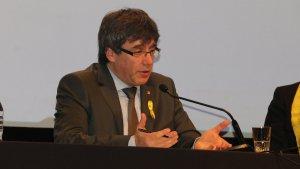Carles Puigdemont també ha confirmat que continua «obert al diàleg»