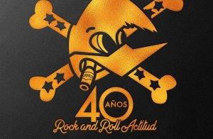 Cartell del concert del 40è aniversari de Loquillo sobre els escenaris
