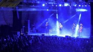Concert de Blaumut durant la Festa Major de l'any passat.