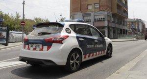 Cotxe dels Mossos d'Esquadra