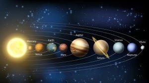 Descubre los planetas del sistema solar, a Plutón y a otro gran desconocido.