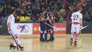 El Reus Deportiu no ha pogut plantar cara al Barça