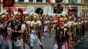 Els Armats de Torredembarra, en representació a Tarragona