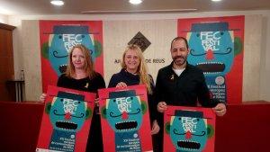 Els codirectors del FEC i la regidora de Cultura presenten l'edició d'enguany