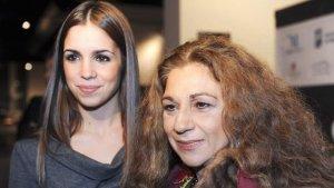 Imagen de archivo de Elena Furiase junto a su madre Lolita