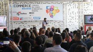 Imatges del Ficommerce, la jornada de comerç i màrqueting digital de Reus