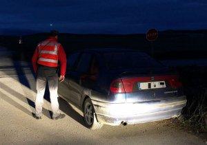 Inmovilizado un conductor en Falces (Navarra) por dar positivo en todas  las drogas