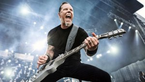James Hetfield, vocalista y guitarrista de Metallica.