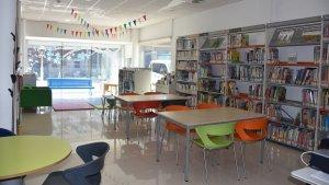 La biblioteca ha dut a terme diverses millores i reubicació d'espais.
