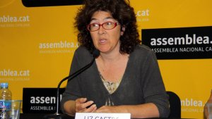 La coordinadora internacional de l'ANC, Liz Castro