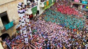 La Jove de Tarragona, actuant per Sant Fèlix 2012.