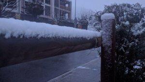 La neu ha arribat a cotes força baixes aquest dimarts
