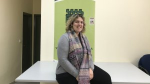 La presidenta de la FAVT, Cristina Berrio