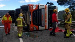 L'accident s'ha produït aquest dilluns al migdia.