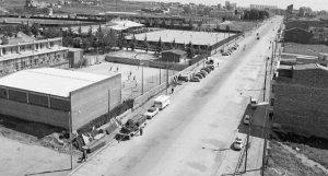 L'avinguda de l'Abat Marcet de Terrassa els anys 60