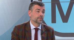 L'exconseller Santi Vila durant l'entrevista a 'Els Matins' de TV3