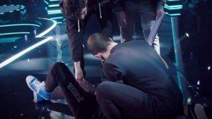 Momentos después de la fuerte caída de un participante de 'Got Talent'