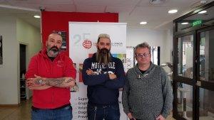 Presentació de la jornada de tatuatges contra el càncer