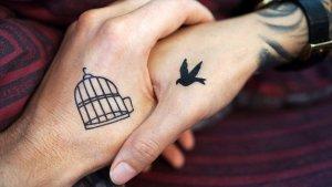 Tatuaje ideal para parejas.
