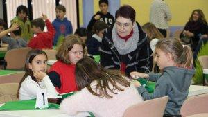 Una quarantena d'alumnes han participat en la prova classificatòria al Casal La Violeta