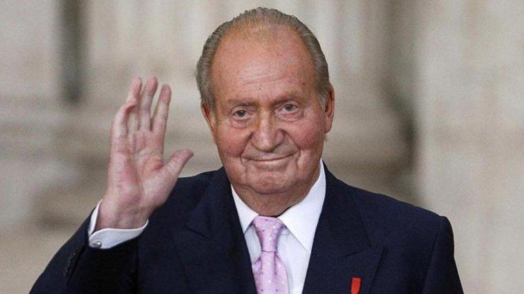 El rei Joan Carles en una imatge d'arxiu