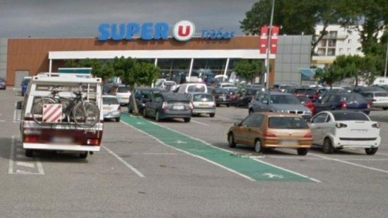 Imagen de archivo de uno de los supermercados Super U en Francia