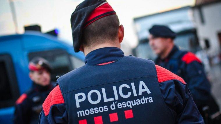 Tres agents dels Mossos d'Esquadra