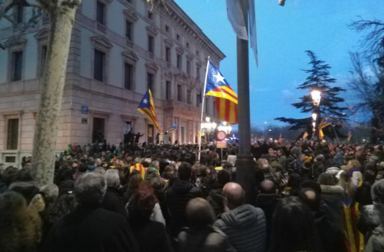 Manifestació de Lleida